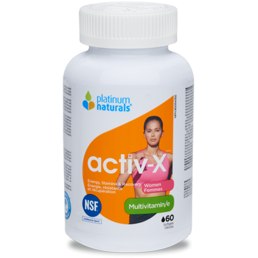 Platinum Naturals Active X Women's multivitamin 60 caps