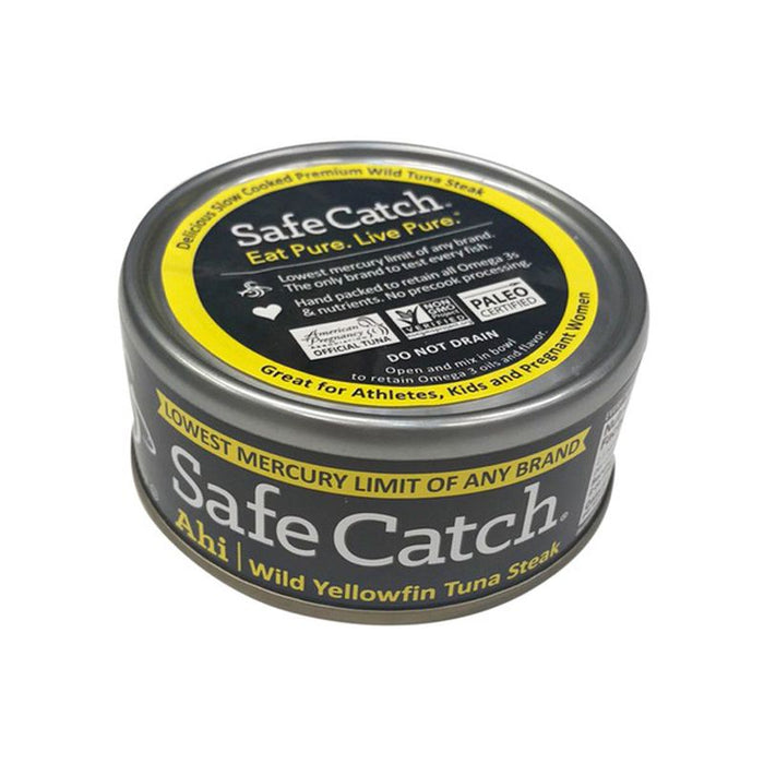 Safe Catch Ahi Wild Yellow Fin Tuna