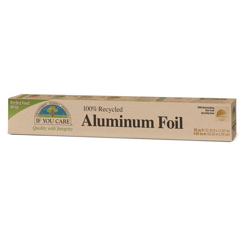 If You Care 100% Recycled Aluminum Foil 50sq ft