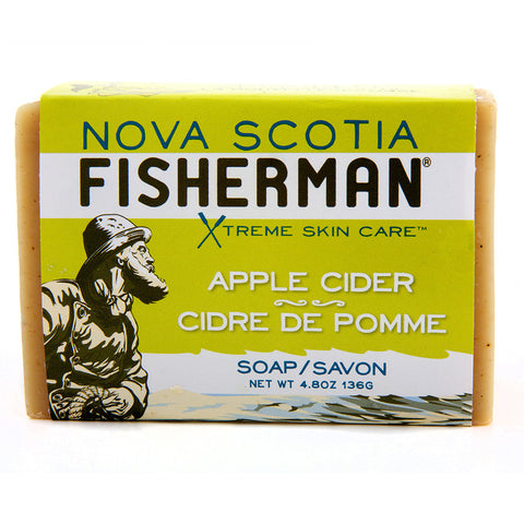 Nova Scotia Fisherman Apple Cider bar soap 136 g