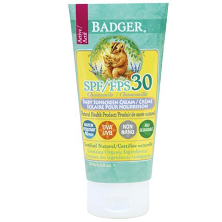 BADGER SUNSCREEN ACTIVE BABY 87ML