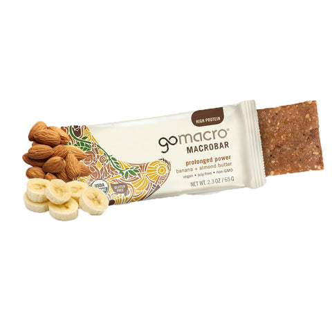 GoMacro Macrobar Gluten Free Banana and Almond Butter