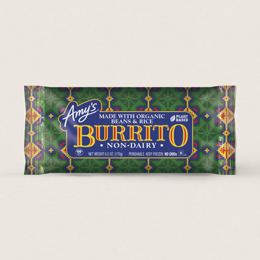 Amy's Bean & Rice Burrito 170g