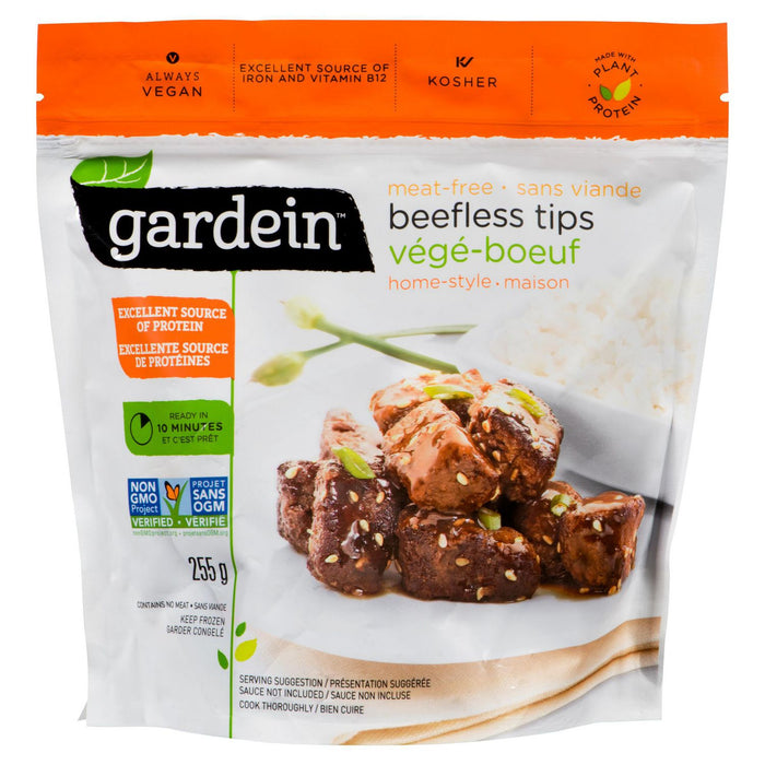 Gardein Homestyle Beefless Tips 225g