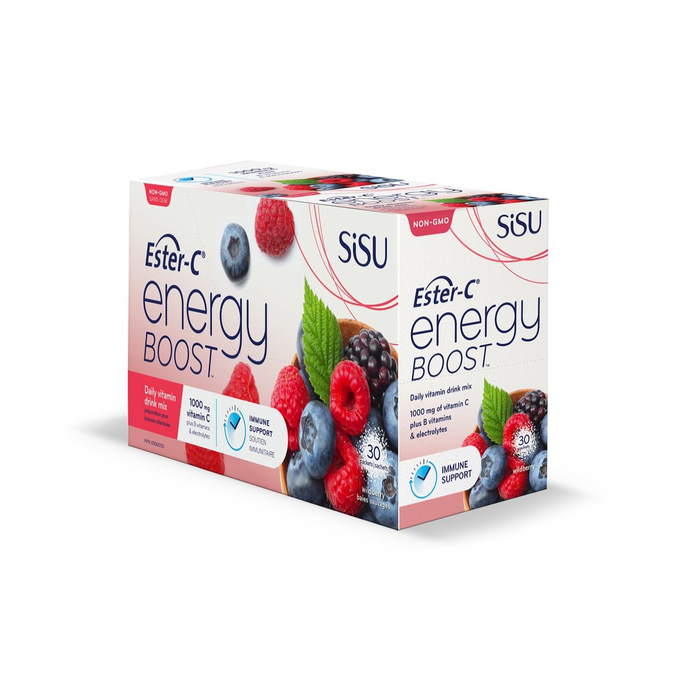 Sisu Energy Boost Berry 30 packets