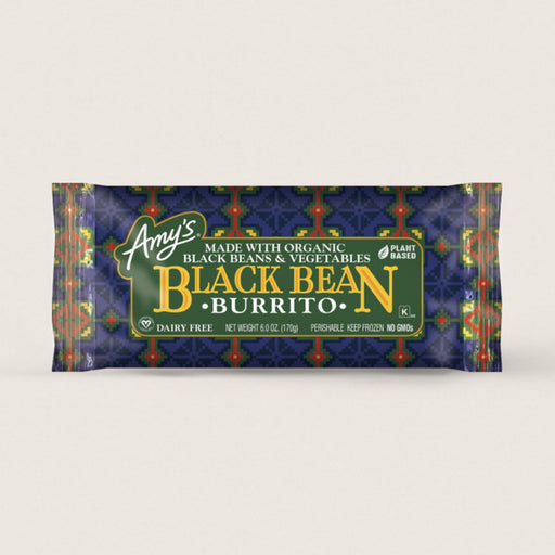 Amy's Black Bean Burrito 170g