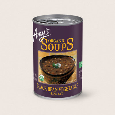 Amy's Black Bean Vegetable Soup 398ml