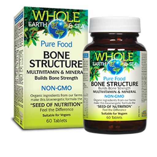 Whole Earth and Sea Bone Structure at Natural Food Pantry