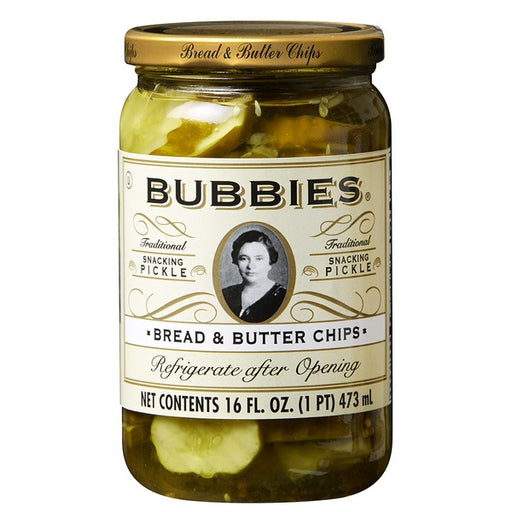 Bubbies Bread & Butter Pickles