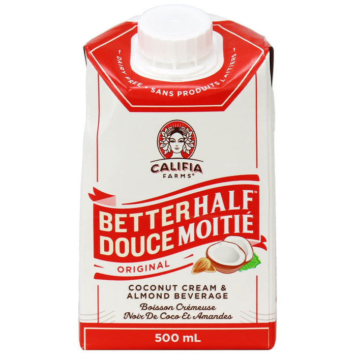 Califia Almond Half and Half Creamer Original 500ml