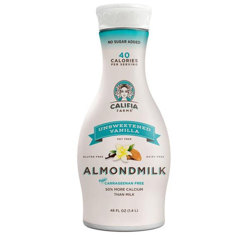 Califia Vanilla Unsweetened Almond Beverage 1.4L