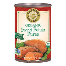 Farmer's Market Sweet Potato Puree