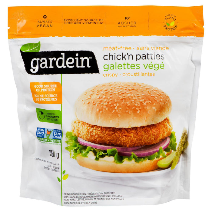 Gardein Chick'n Patties 350g