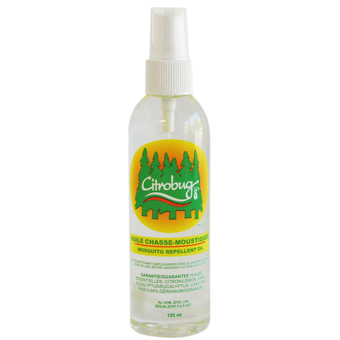 Heloise Laboratory Citrobug Mosquito Repellant 125 ml