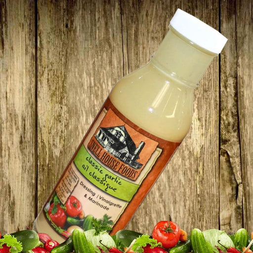 Snell House Classic Garlic Salad Dressing 350ml
