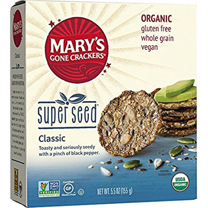 Mary's Super Seed Crackers Classic