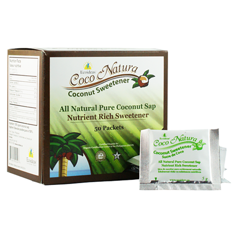 Ecoideas Coco Natura 50 Packets