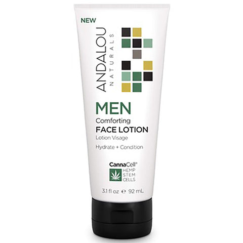 Andalou Naturals Men's Comforting Face Lotion
