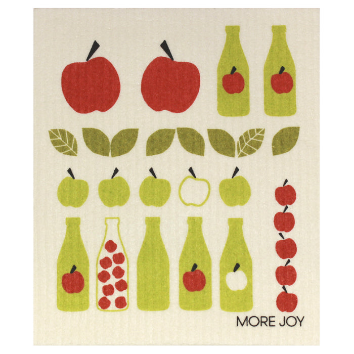 More Joy Dishcloth: Apple Juice