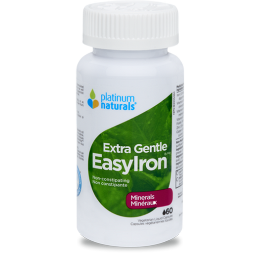 PLATINUM NATURALS Extra gentle EASY IRON 60 V CAPS AT NATURAL FOOD PANTRY