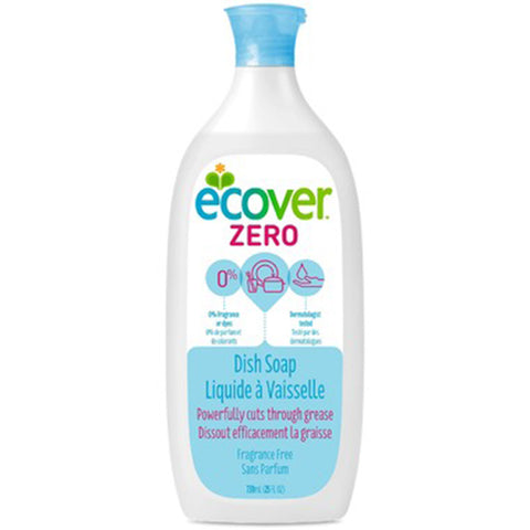 Ecover dish soap fragrance free 739 ml