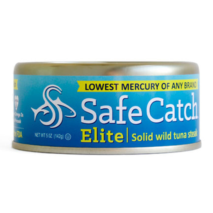 Safecatch Lowest Mercury Elite Wild Tuna