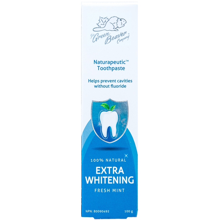 Green Beaver Naturapeutic Extra Whitening Toothpaste (Fresh Mint)