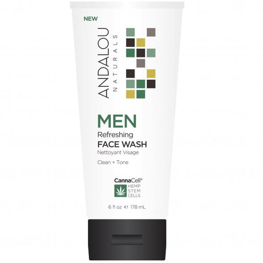 Andalou Naturals Men's Face Wash 178ml