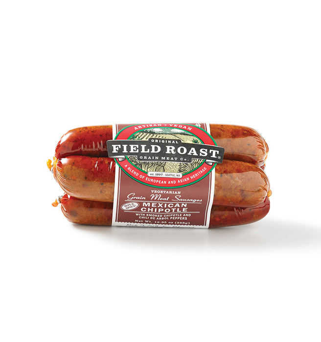 Field Roast Vegan Mexican Chipotle Sausages 368g