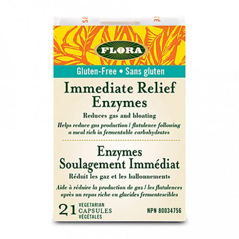 Flora Udo's Immediate Relief Enzymes 21 caps