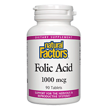 Natural Factors Folic Acid