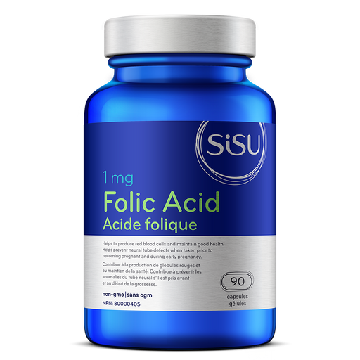 Sisu Folic Acid 1mg 90 caps