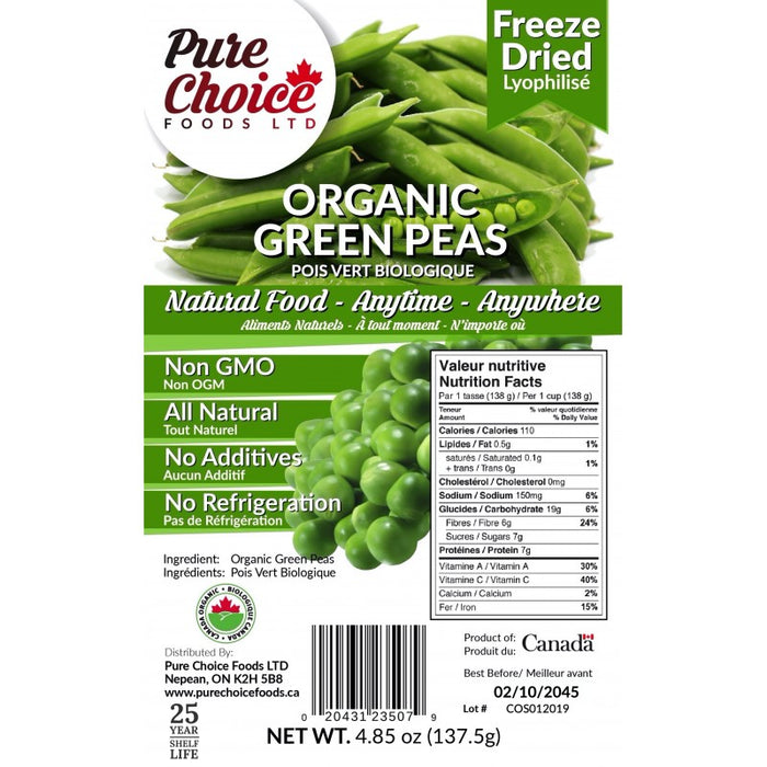 Pure Choice Green Peas