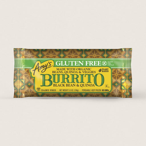 Amy's Black Bean & Quinoa Burrito 156g