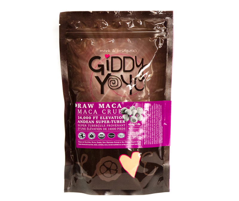 Giddy Yoyo Maca Powder 454g