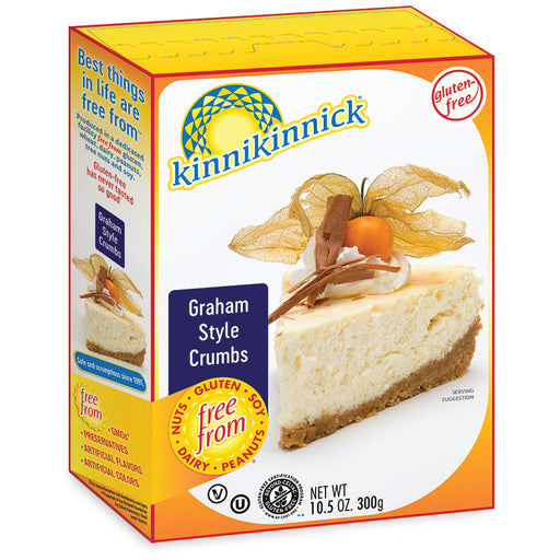 Kinnikinnick G/F Graham Cracker Crumbs 300g
