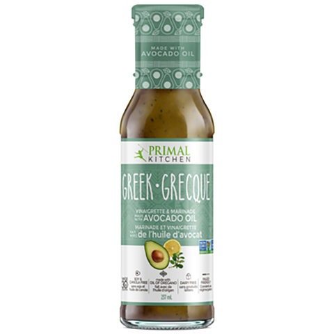 Primal Kitchen Greek Vinaigrette 257ml