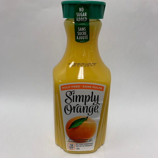 Simply Orange Juice Pulp Free 1.54L