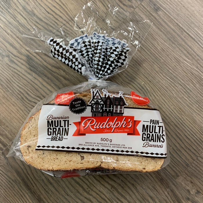 Rudolph's Bavarian Multi-Grain Bread 500g