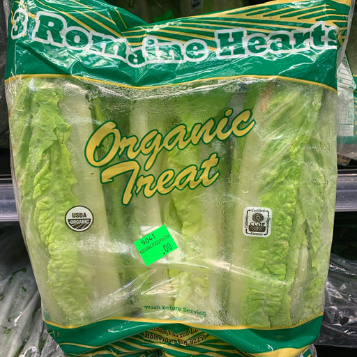 Organic Romaine Hearts 3 Pack