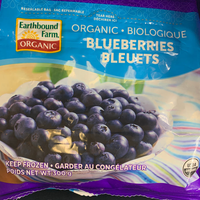 Earthbound Farm Organic Frozen Blueberries 300g