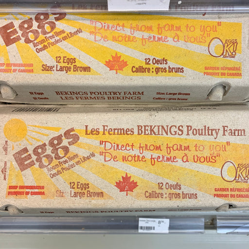 Bekings Large Eggs 1 Dozen
