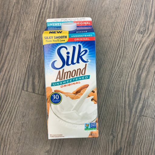Silk Unsweetened Almond Milk 1.89L