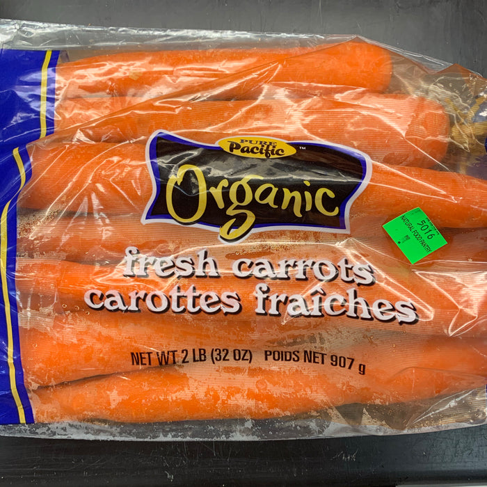 Organic Carrots 2lbs (Local Ontario/Quebec)