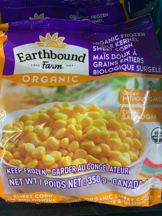 Earthbound Farm Organic Frozen Frozen Sweet Corn 300g