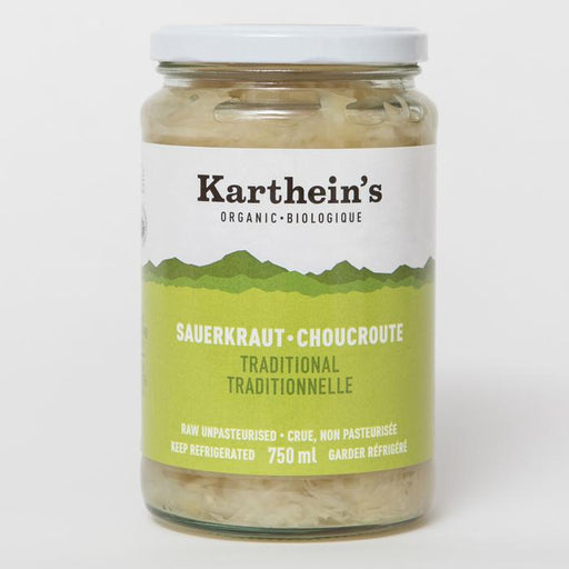Karthein's Organic Sauerkraut Traditional 750ml