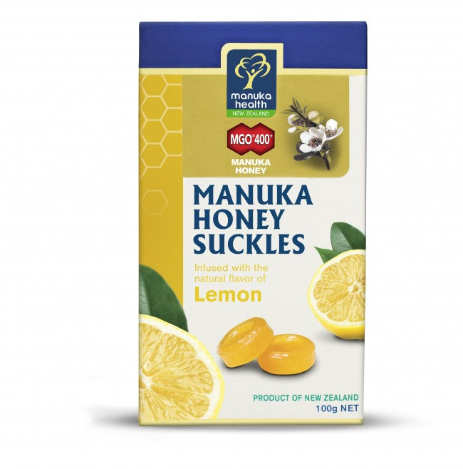 Manuka Health Manuka Lozenges with Lemon