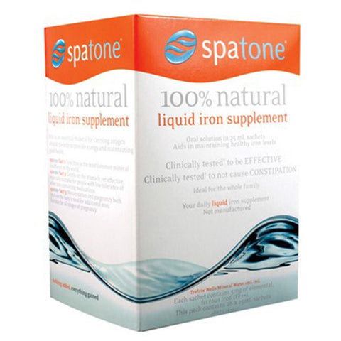 Spatone Liquid Iron 28 Day Sachets at the Natural Food Pantry