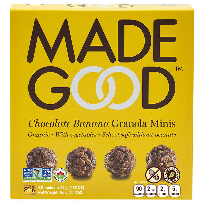 Made Good Chocolate Banana Granola Minis 5pk