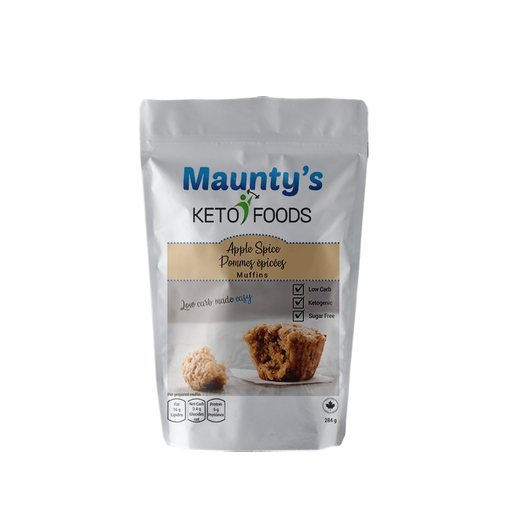 Maunty's Keto Apple Spice Muffins 284g